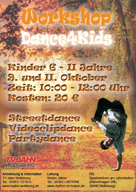 2018 Herbstferien Dance4Kids
