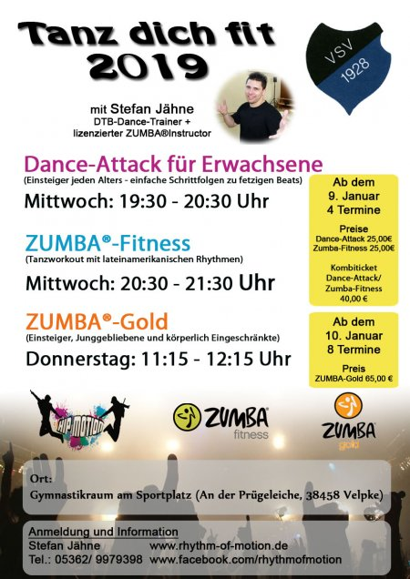 2019 Tanz Dich Fit Workshops