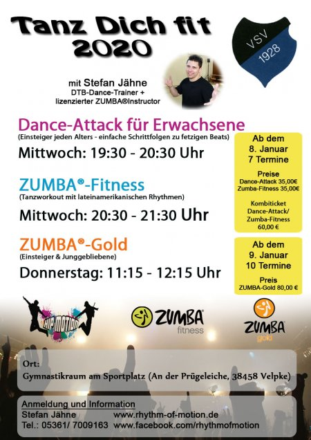 2020 Tanz Dich Fit Workshops